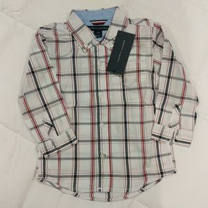 NWT Tommy Hilfiger Lightweight Button Down 24 mo